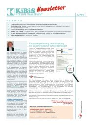 Newsletter 2009-12 (PDF 7034 KB) - KiBiS Work-Life Management ...