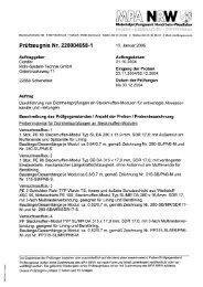Prüfzertifikat-Nr. 220004058-1 - Condor Rohr-System-Technik Gmbh