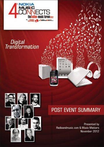 Download NMC2012 wrap report here - ALLTHATMATTERS