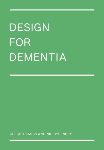 Design for Dementia - Helen Hamlyn Centre - Royal College of Art