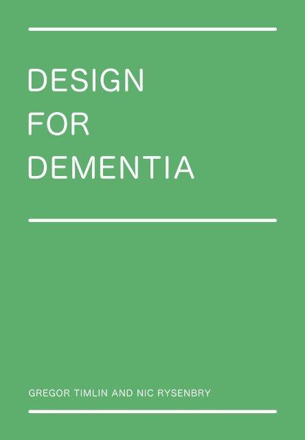 Design for Dementia - Helen Hamlyn Centre - Royal College of Art