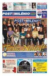 Festa de Natal dos - Post Milenio