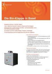 Informationsblatt Bio-Klappe - Amt für Umwelt und Energie - Kanton ...