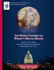 Program Announcement - World Psychiatric Association
