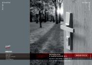 Katalog bezpečnostního a dveřního kování ke stažení ZDE - Rostex