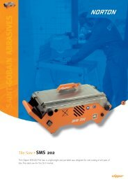 Tile Saw SMS 202 - Norton Construction Products