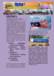 Buletin FSPPP Edisi Vol 1 - Terengganu