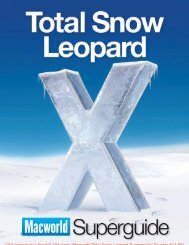Macworld Total Snow Leopard Superguide SAMPLE - Take Control