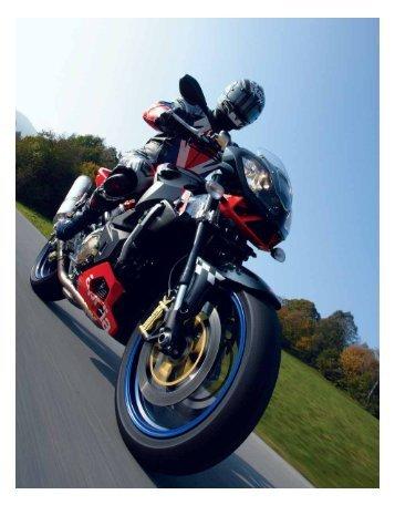 Download hier de volledige test van de Aprilia Tuono 1000R uit 2005