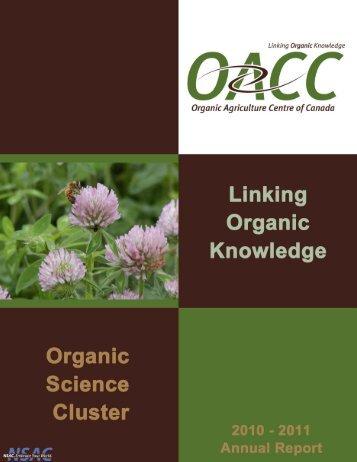 2010-2011 - Centre d'agriculture biologique du Canada