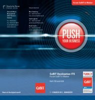 Flyer CeBit in Motion 2011 - DLR