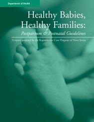 Postpartum & Postnatal Guidelines - Reproductive Care Program of ...