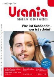Urania Berlin e.V. Programm März und April 2014