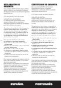 Warranty statement-ORANGE.indd - Worx Power Tools - Page 4