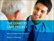 Mick Reid - Diabetes Australia