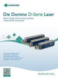 D-Serie i-Tech Produktprogramm - Domino