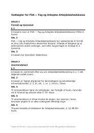 Vedtægter for FOAs a-kasse - vedtaget på a-kassens ...