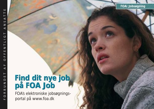 Find dit nye job p. FOA Job
