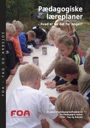 Pædagogiske læreplaner - FOA