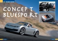VW&Audi; 2-09 094-097 Studie VW Concept BlueSport
