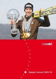 Rapport annuel 2009/10 - Swiss-Ski