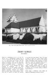 ÅRBY KIRKE - Danmarks Kirker - Nationalmuseet