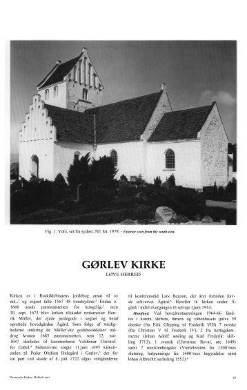 GØRLEV KIRKE - Danmarks Kirker - Nationalmuseet