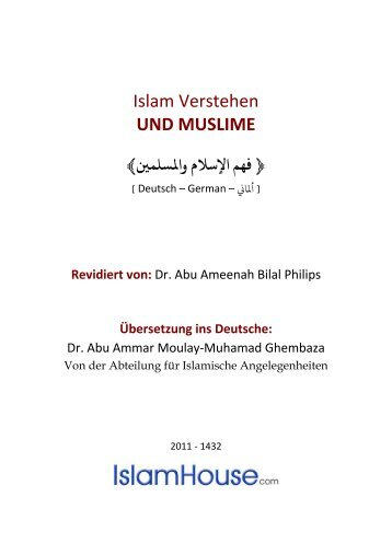 Islam Verstehen und Muslime - Islamischen Zentrums in Wien