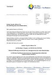 Vorstand - Sozialportal Ostallgäu