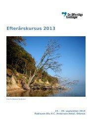 EK2013 - program.pdf - De Offentlige Tandlæger