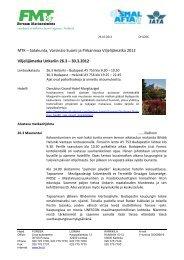 Tarkempi matkaohjelma [pdf, 125 kt] - MTK