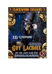 Simone Keil: Guy Lacroix: Auf der Jagd nach dem Rosenkranzmörder (Clockwork Cologne)