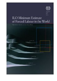 ILO Minimum Estimate of Forced Labour in the World - International ...