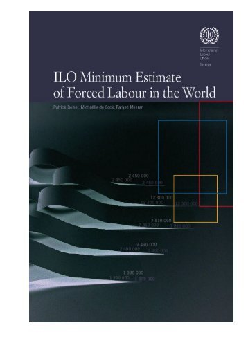 ILO Minimum Estimate of Forced Labour in the World - International ...