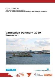 Varmeplan Danmark 2010 - Energi PRINCIPS