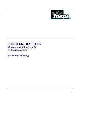 FIBERTEK/TRACETEK - Ideal Industries