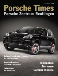 Ausgabe Mrz/Apr 2007 - Porsche Zentrum Reutlingen