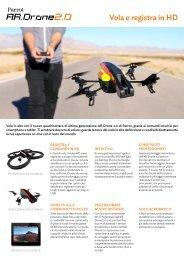 Vola e registra in HD - Parrot