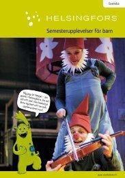 Semesterupplevelser för barn - Helsinki