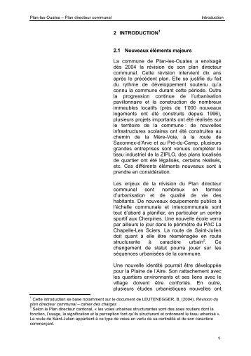 2 INTRODUCTION 2.1 Nouveaux éléments ... - Etat de Genève