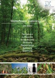 Datenblatt DK8040 als PDF herunterladen - Driesen + Kern GmbH