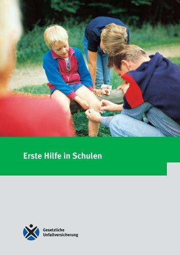 Erste Hilfe in Schulen - Schulentwicklungspreis Gute gesunde Schule