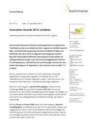 Innovation Awards - Press1.de