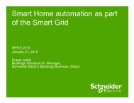 Beyond smart home automation - Schneider Electric
