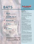 OLD BATS OLD BATS - Bat Conservation International - Page 2