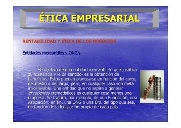 ÉTICA EMPRESARIAL - Emagister