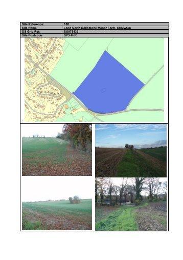Site 150 Land north Rollestone Manor Farm Shrewton.pdf 210kb