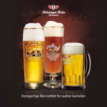 Einzigartige Biervielfalt für wahre Genießer