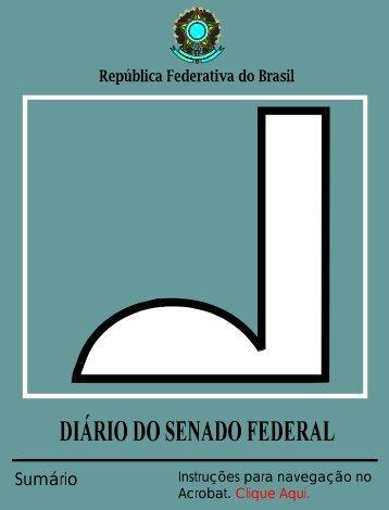 Ata da 34ª Sessão Deliberativa Ordinária em 14 - Senado Federal