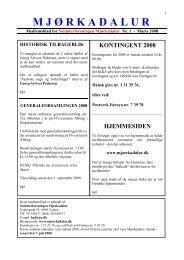 marts 2008 - Soldaterforeningen Mjørkadalur